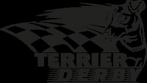 Black and White Terrier Derby Logo